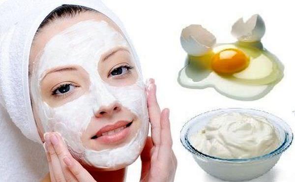 подтягивающие маски с белком для лица