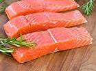 филе красной рыбы