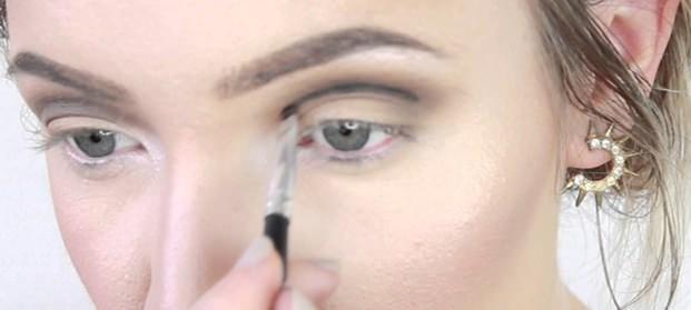 опущенная форма глаз
