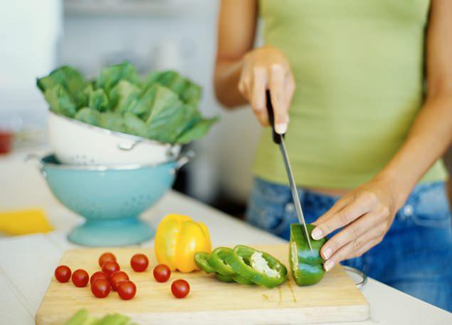 овощи в рационе питания