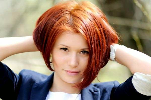 стрижка для пушистых волос