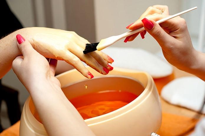 Как делать парафин для рук в домашних условиях
