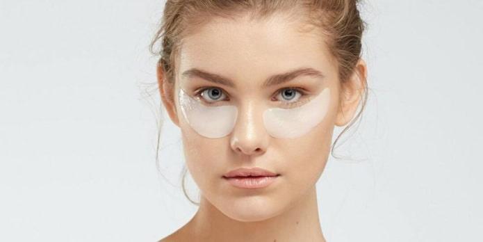 В помощь маске в борьбе с кругами вокруг глаз