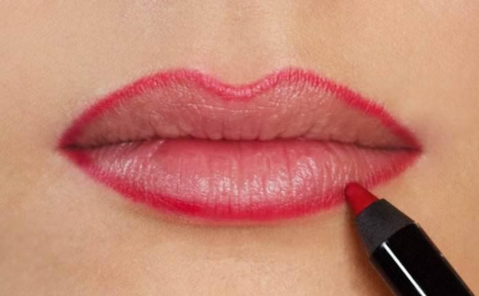 Полное руководство как красить губы