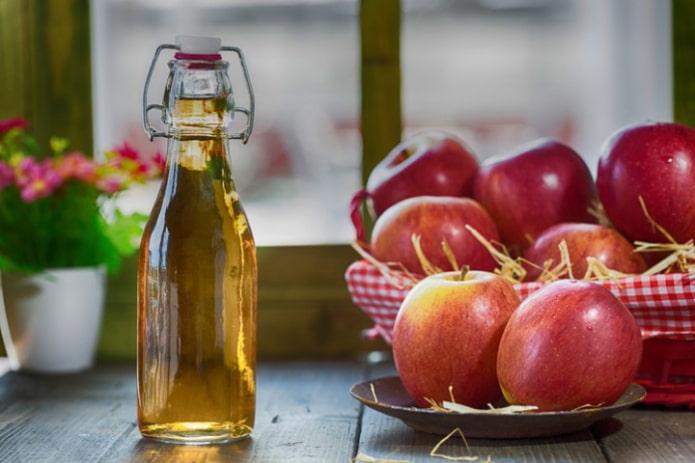 Рецепты обертываний с яблочным уксусом